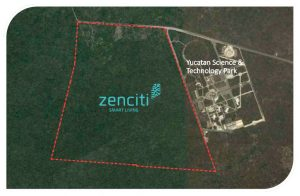 Site for Zenciti next to the Yucatan Science and Technology Park in Mexico.