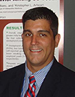 Alberto Caban-Martinez, B.S. '01, Ph.D. '11, assistant professor in the Department of Public Health Sciences at the University of Miami Miller School of Medicine.