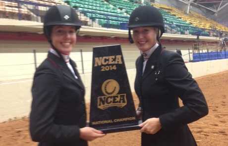 University of Georgia  Equestrian team  wins the 2014 NCEA National Championship