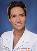 Claudia A. Martinez, M.D., associate professor of medicine at the University of Miami Miller School of Medicine